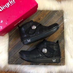 Algeria Caiti Plaid to Meet You Boots Shoes